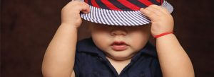 Baby with hat start small