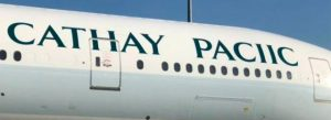 Cathay Pacific spelling mistake - copywriting proofreading