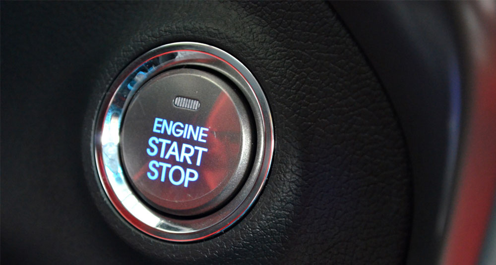 Start your copywriting career - engine start button