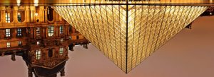 Louvre inverted pyramid - the telling copy structure
