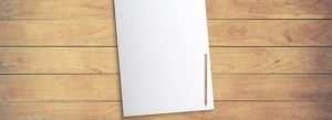 Pen on blank page - how long should a copywriting brief be?