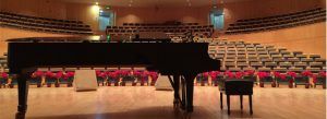 Concert hall piano - copywriting sonata
