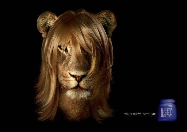 South African hair gel ad