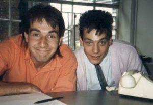 Jon and Ian at Monitor
