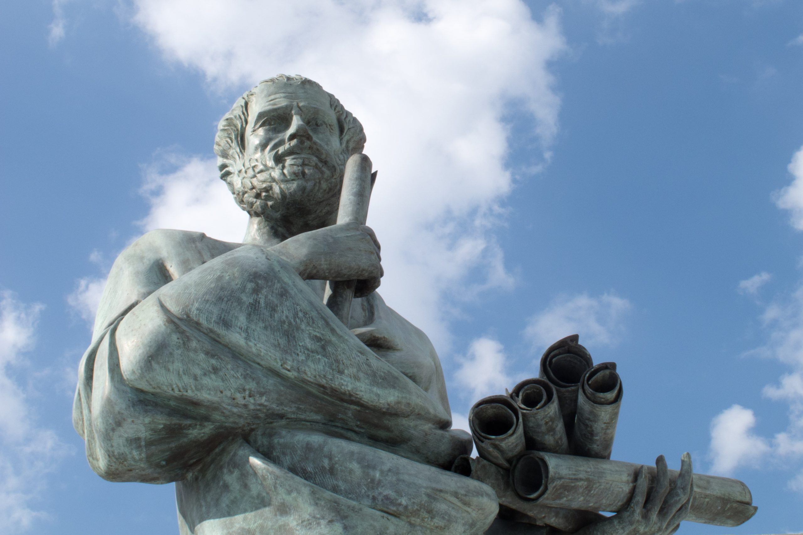 Statue of Socrates, Greek philosopher