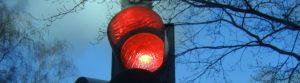 Red traffic lights - trimmed